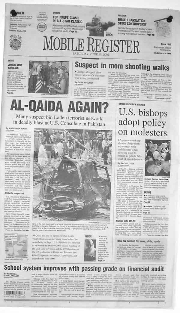 Press Clippings For Madden and Soto Attorneys, Mobile, Alabama